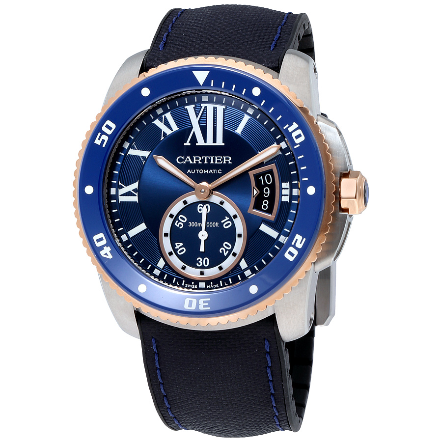 Schmick Cartier Calibre de Diver London Chronohaus luxury subscription watches