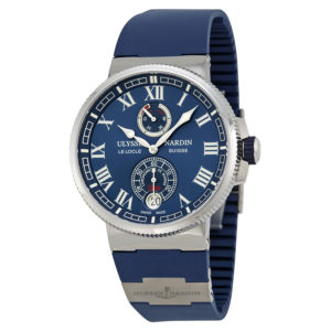 Schmick Ulysse Nardin Marine Chronometer London Chronohaus luxury subscription watches