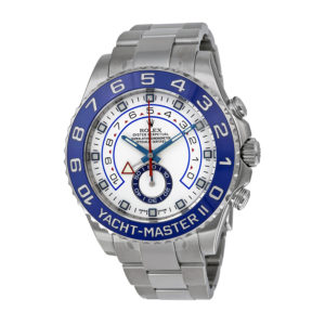 Uber-Luxe Rolex Yacht Master II steel London Chronohaus luxury subscription watches