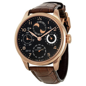 Uber-Luxe IWC Portugues Perpetual Calendar London Chronohaus luxury subscription watches
